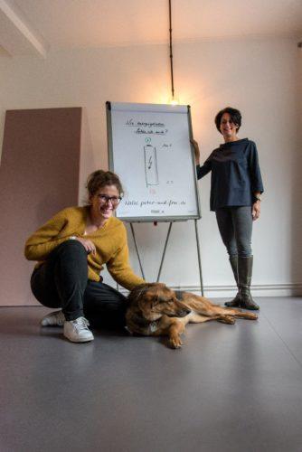 Christiane Petersen und Prisca Freitag